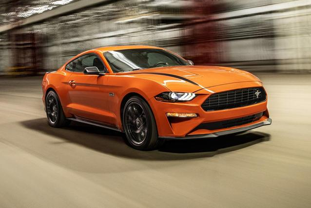 2020 Ford Mustang ECOBOOST 2dr Car Slide 0