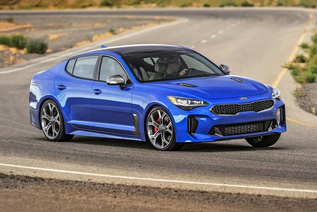 2020 Kia Stinger GT-LINE 4dr Car Slide 0