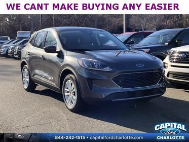 Magnetic Metallic 2020 Ford Escape SE 4D Sport Utility Charlotte NC