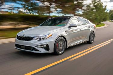Gravity Grey 2020 Kia Optima SE Auto Goldsboro NC