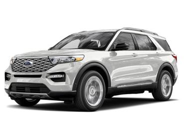 Star White Metallic Tri-Coat 2020 Ford Explorer PLATINUM SUV Huntington NY