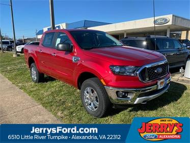 Red Metallic 2020 Ford Ranger XLT Crew Cab Pickup  VA