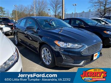Blue Metallic 2020 Ford Fusion SE 4dr Car Alexandria VA