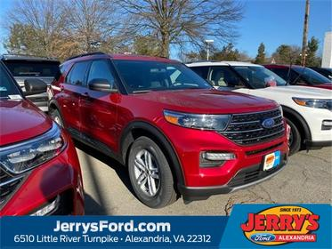 Red Metallic 2020 Ford Explorer XLT SUV Alexandria VA