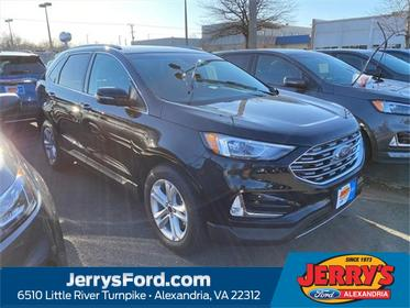 Black Metallic 2020 Ford Edge SEL SUV  VA