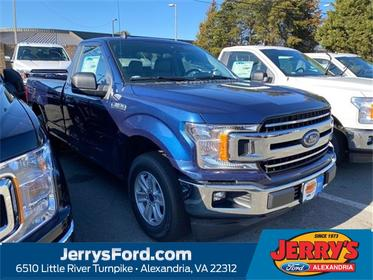 Blue 2020 Ford F-150 XLT Regular Cab Pickup  VA