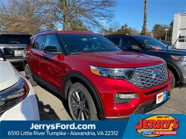 Red Metallic 2020 Ford Explorer Platinum SUV Alexandria VA