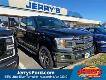 Black 2019 Ford F-150 XLT Crew Cab Pickup  VA