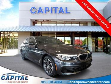 Dark Graphite Metallic 2019 BMW 5 Series 540i 4D Sedan Durham NC
