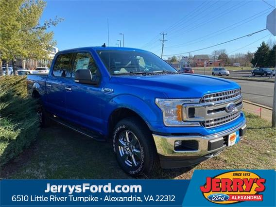 2020 Ford F-150 XLT Crew Cab Pickup Slide 0