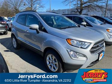 Silver Metallic 2020 Ford EcoSport SE SUV  VA