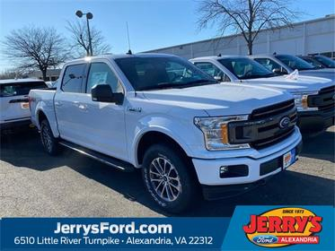 Oxford White 2019 Ford F-150 XLT Crew Cab Pickup  VA