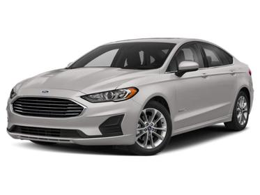 White Platinum Metallic Tri-Coat 2020 Ford Fusion Hybrid SE 4dr Car Huntington NY