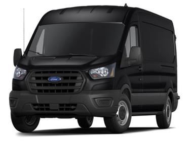"Agate Black Metallic 2020 Ford Transit Cargo Van T-150 130"" LOW RF 8670 GVWR RWD Mini-van, Cargo Huntington NY"