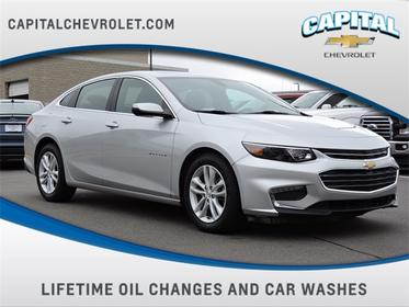 Silver Ice Metallic 2018 Chevrolet Malibu LT 4dr Car Wake Forest NC