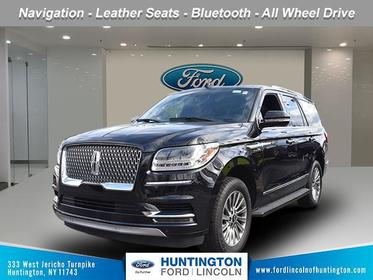 Infinite Black Metallic 2019 Lincoln Navigator STANDARD SUV Huntington NY