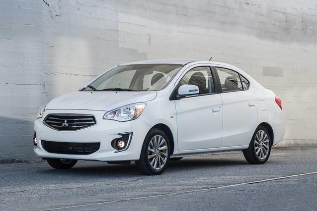 2020 Mitsubishi Mirage G4 ES 4dr Car Slide 0