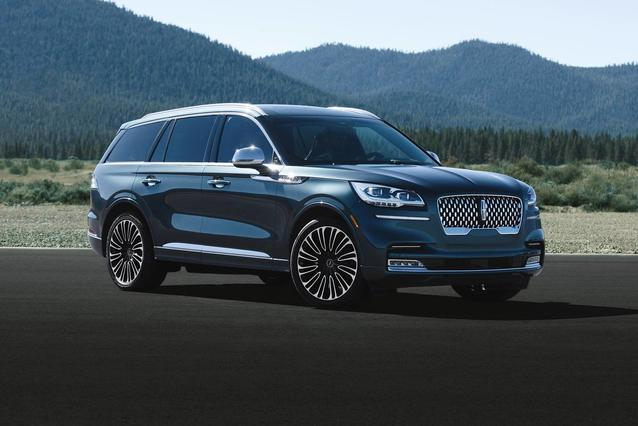 2020 Lincoln Aviator BLACK LABEL SUV Slide 0
