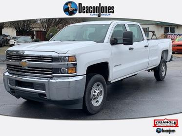 Summit White 2015 Chevrolet Silverado 2500HD WORK TRUCK Crew Cab Pickup  NC