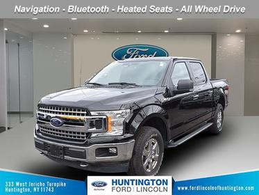 Agate Black Metallic 2019 Ford F-150 XLT Short Bed Huntington NY