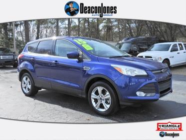 Deep Impact Blue 2015 Ford Escape SE Sport Utility