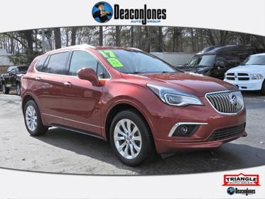 Chili Red Metallilc 2017 Buick Envision FWD 4dr Essence