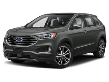 Magnetic Metallic 2020 Ford Edge SEL SUV Huntington NY