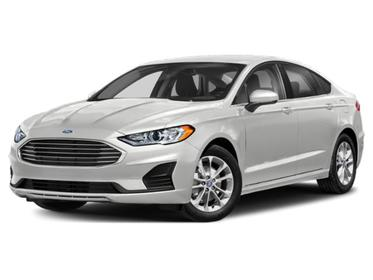 Oxford White 2020 Ford Fusion SE 4dr Car Huntington NY