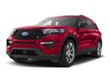 Rapid Red Metallic Tinted Clearcoat 2020 Ford Explorer ST SUV Huntington NY