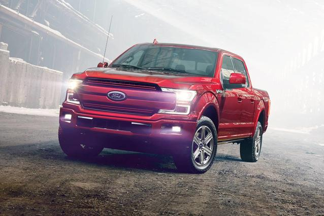 2020 Ford F-150 KING RANCH Crew Cab Pickup Slide 0