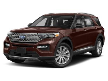 Rich Copper Metallic Tinted Clearcoat 2020 Ford Explorer XLT SUV Huntington NY