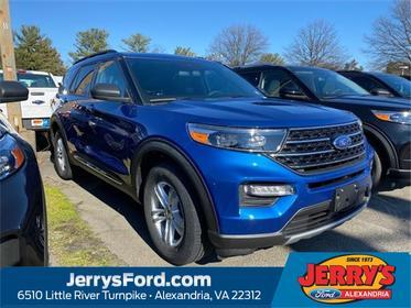 Blue Metallic 2020 Ford Explorer XLT SUV  VA