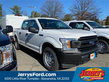 Oxford White 2020 Ford F-150 XL Crew Cab Pickup  VA