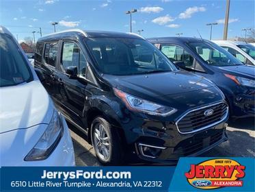 Shadow Black 2020 Ford Transit Connect TITANIUM Van  VA