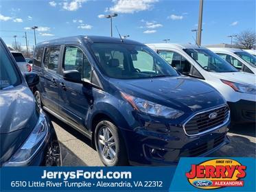 Dark Blue 2020 Ford Transit Connect XLT Van  VA