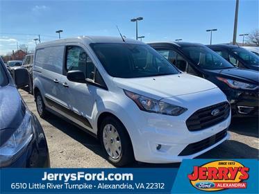 Frozen White Metallic 2020 Ford Transit Connect XLT Van  VA
