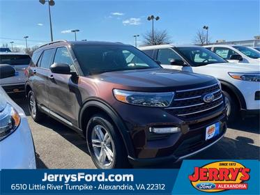 Copper 2020 Ford Explorer XLT SUV  VA