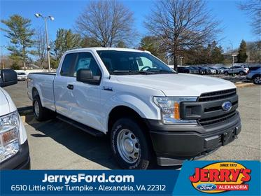 Oxford White 2020 Ford F-150 XL Extended Cab Pickup  VA