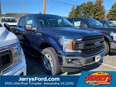 Blue 2020 Ford F-150 XL Crew Cab Pickup  VA