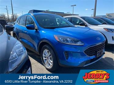 Blue Metallic 2020 Ford Escape SE SUV  VA