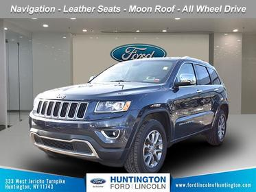 Granite Crystal Metallic Clearcoat 2016 Jeep Grand Cherokee Limited SUV Huntington NY