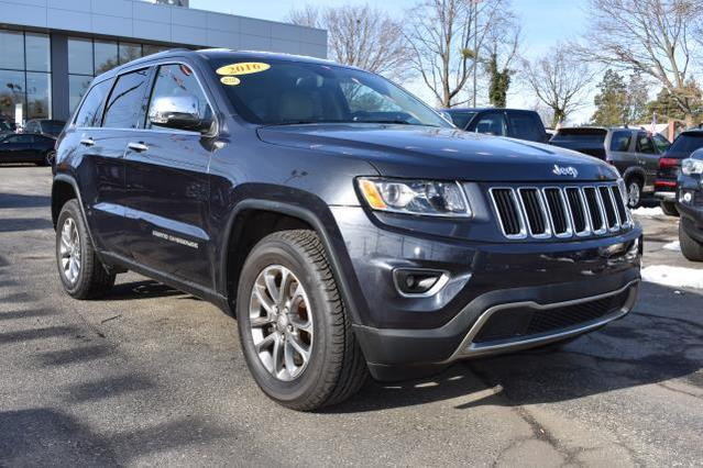 2016 Jeep Grand Cherokee LIMITED SUV Huntington NY