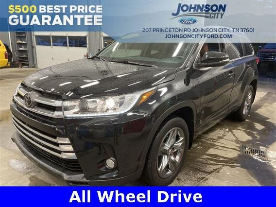 2018 Toyota Highlander LIMITED PLATINUM Slide 0