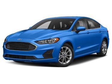 Alto Blue Metallic Tinted Clearcoat 2020 Ford Fusion Hybrid SE 4dr Car Huntington NY