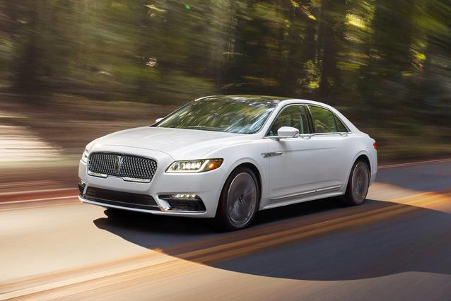 2020 Lincoln Continental RESERVE 4dr Car Slide 0