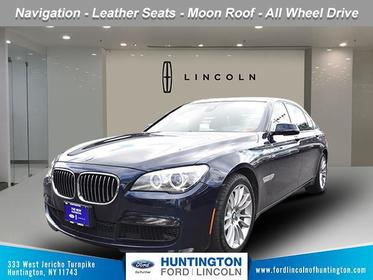 Bl 2015 BMW 7 Series 740Li xDrive 4dr Car Huntington NY