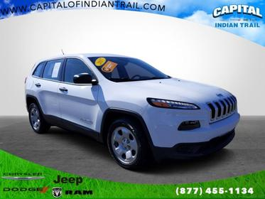 Bright White Clearcoat 2017 Jeep Cherokee SPORT Sport Utility Indian Trail NC