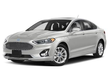 Oxford White 2020 Ford Fusion Energi TITANIUM 4dr Car Huntington NY
