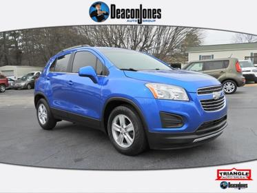 Brilliant Blue Metallic 2016 Chevrolet Trax FWD 4dr LT  NC
