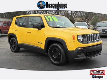 Solar Yellow 2017 Jeep Renegade Sport FWD *Ltd Avail*